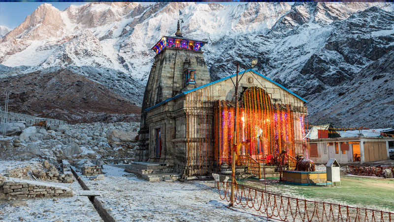 Kedarnath is a wonderful pilgrimage place of Lord Shankar