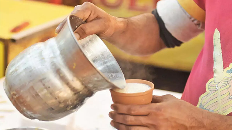 you may now enjoy tea in kulhads across railway stations airports and malls