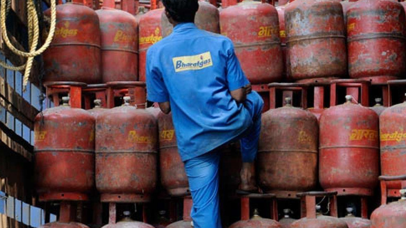 How to book your LPG cylinder from home just use your smart phone