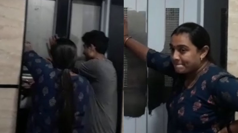 8 People caught in Lift at Borsad Multiplex youtube help them to comeout