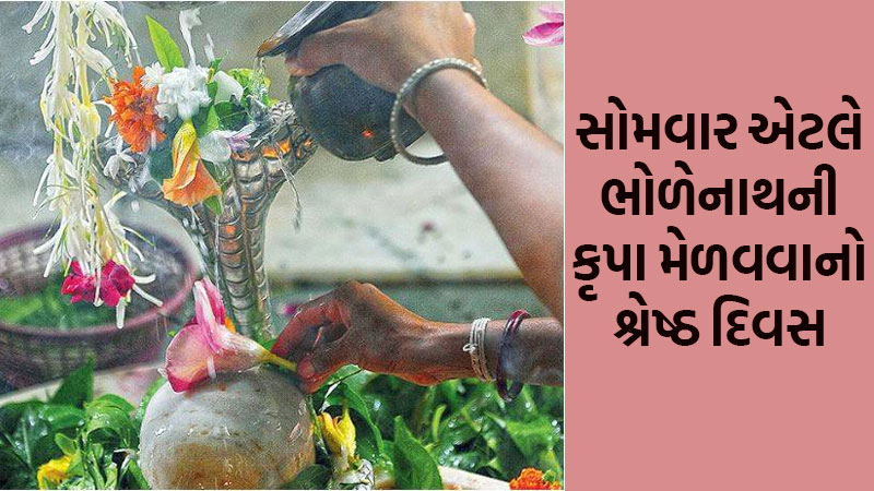 today is first monday of shravan month, offered these things to shivji for blessing