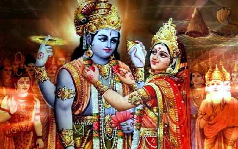 Mahalakshmi, Lord Vishnu Marriage