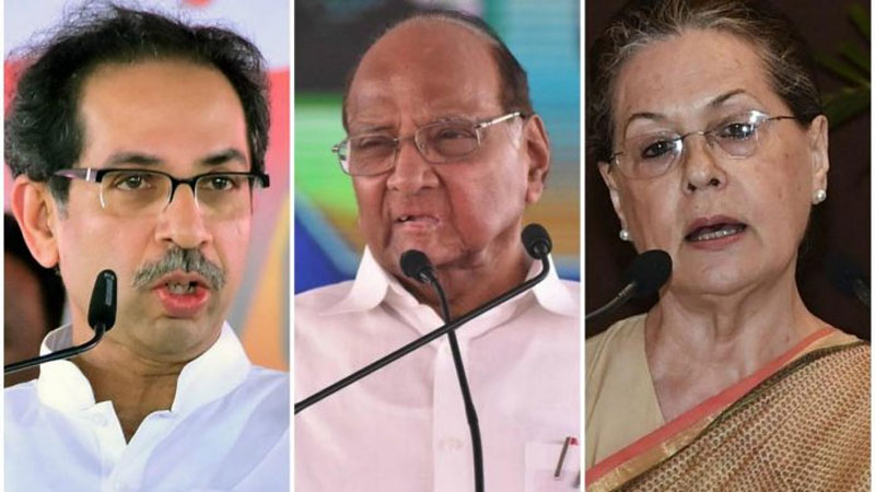 Shiv Sena confident on forming Maharashtra govt as Sonia, Pawar meet today to finalise pact
