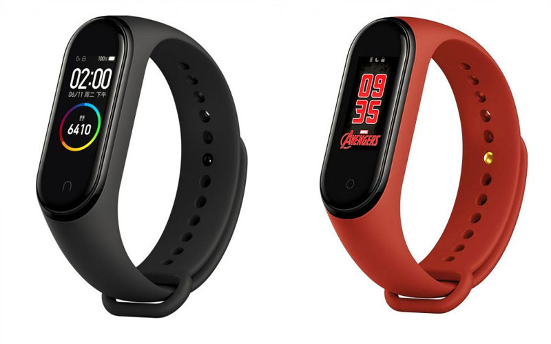 mi band 4 with 6 axis senso 20 days battery life launched