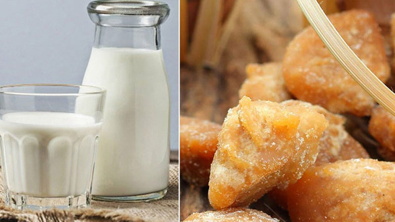 Health Benefits Of Milk With Jaggery