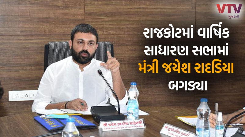 Statement by Minister Jayesh Radadia at the Annual General Meeting in Rajkot