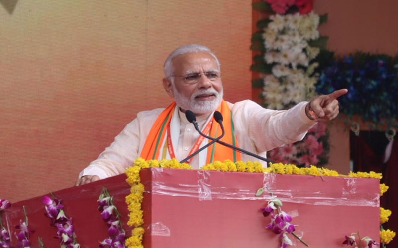 Lok Sabha Election 2019: PM Modi rally in Jharkhand Koderma attacks on congress
