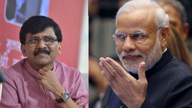 shiv sena leader sanjay raut narendra modi best leader uddhav