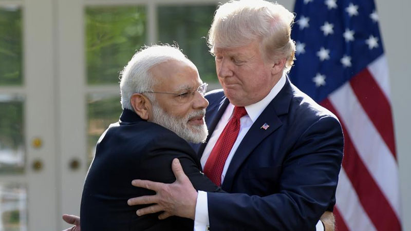 Donald trump in howdy modi program narendra modi texas big announcement trade