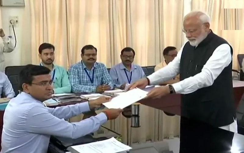 Lok Sabha Election 2019: PM Narendra Modi files papers from Varanasi unique thing during nomination