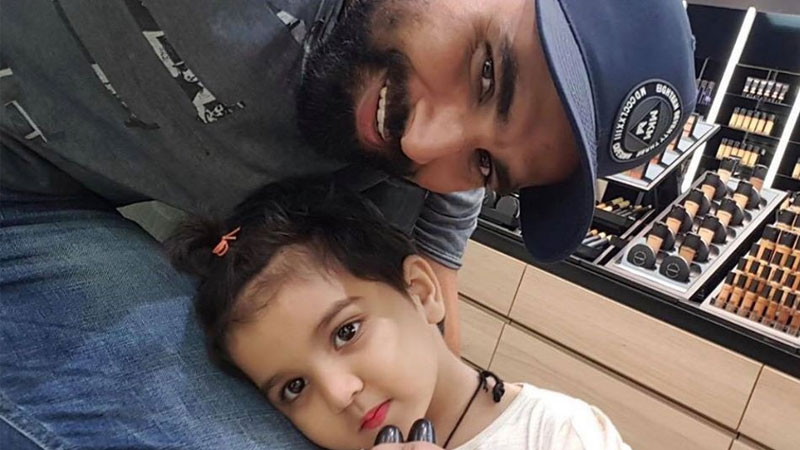 Mohammed Shami Shows Love On Adorable Saree Picture Of His Daughter Aaira Shami