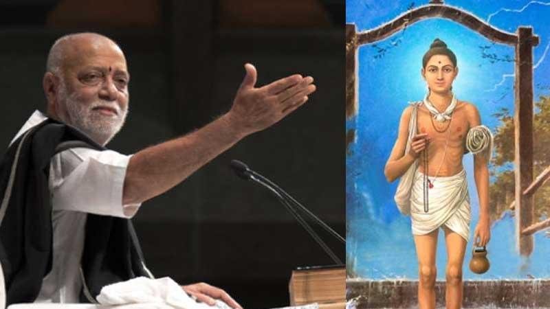 swaminarayan saints should apologise to morari bapu