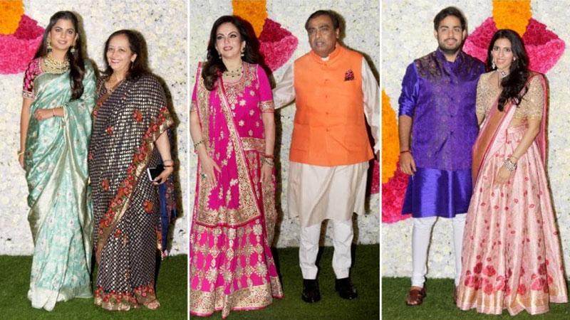 Nita-Mukesh Ambani to Shloka-Akash: Ambanis party with Mumbai Indians at Diwali bash