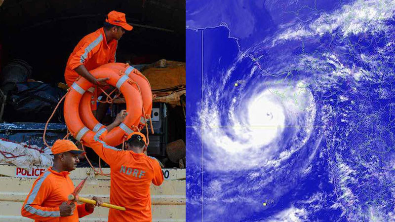 15 NDRF Team stand to on Gujarat for a fight to cyclone maha Maha