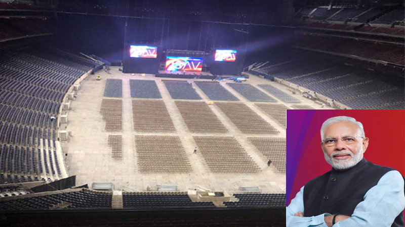 specialty of the NRG Stadium for Howdy Modi event pm Modi and donald trump share stage