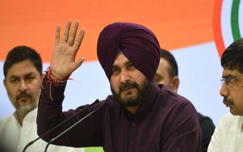 If Rahul Gandhi loses then i will leave politics says congress leader Navjot Singh Sidhu