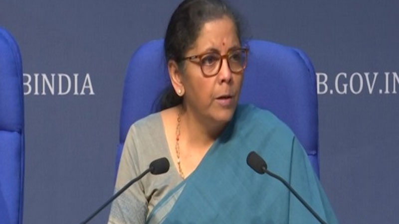 finance minister nirmala sitharaman speech ecinomic package
