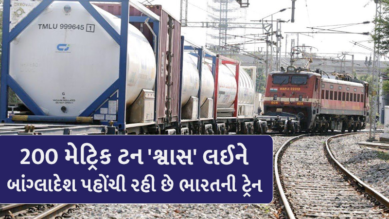 Indian Railways to deliver 200 tonnes of liquid medical oxygen to Bangladesh on Sunday