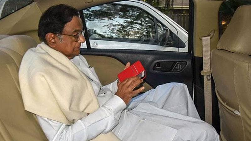 INX media case P chidambaram location cbi ed supreme court