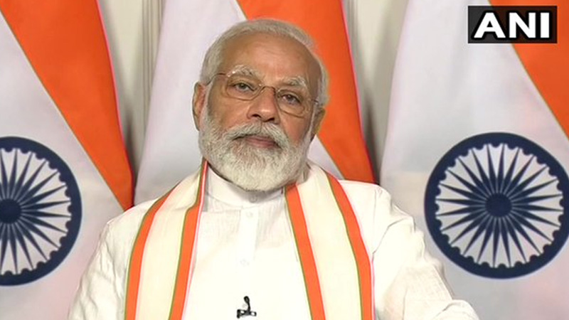 PM modi to address the nation through   his radio programme mann ki baat at 11   am