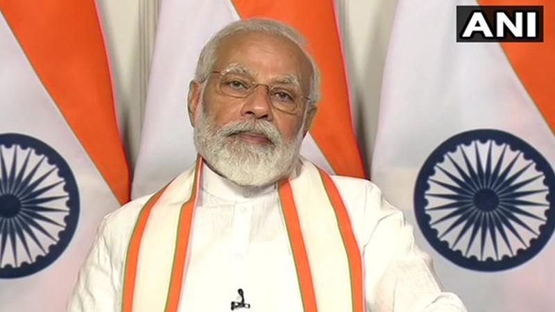 pm narendra modi to address nation   through mann ki baat