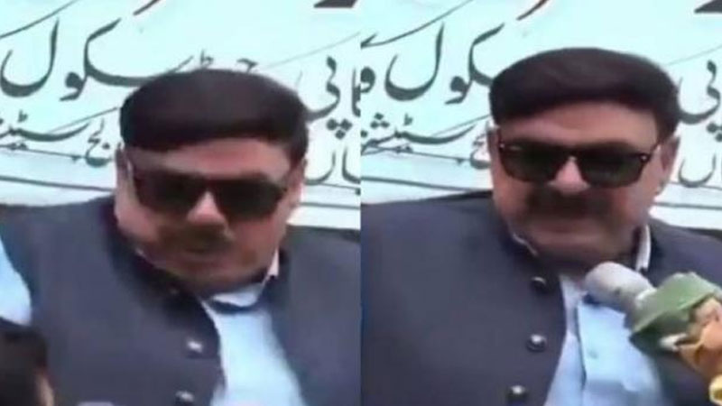 Imran khan minister sheikh rasheed current jammu kashmir narendra modi viral video