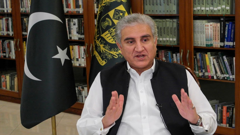 pakistan foreign minister qureshi said article 370 india's internal matter