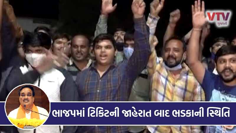 Local body electin bjp candidate list patidar youth