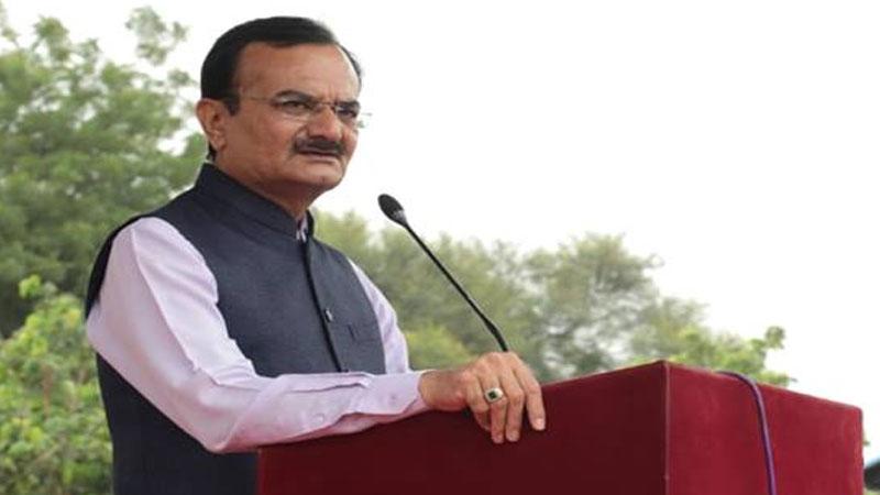 Gujarat stat home minister pradipsinh jadeja press about LRD