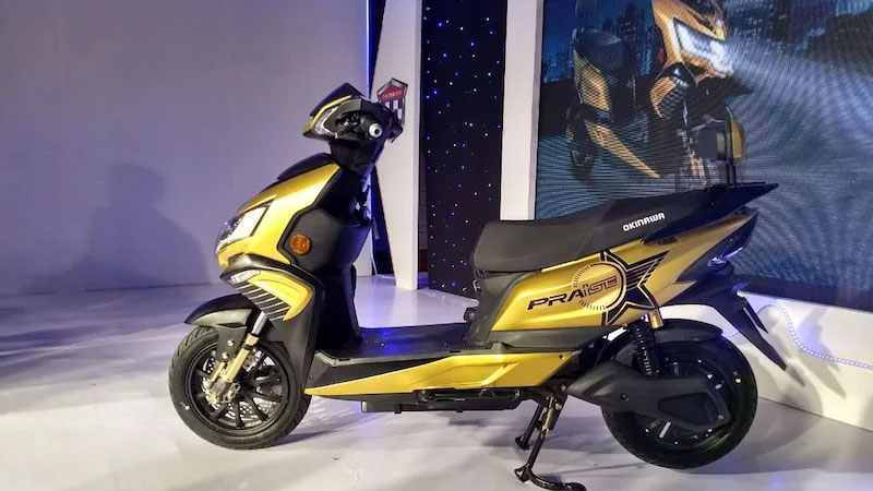 Okinawa Praise Electric Scooter Launched In India