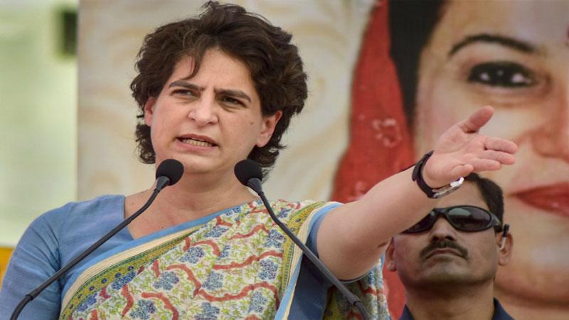 Govt investing LIC money in loss making firms Priyanka Gandhi