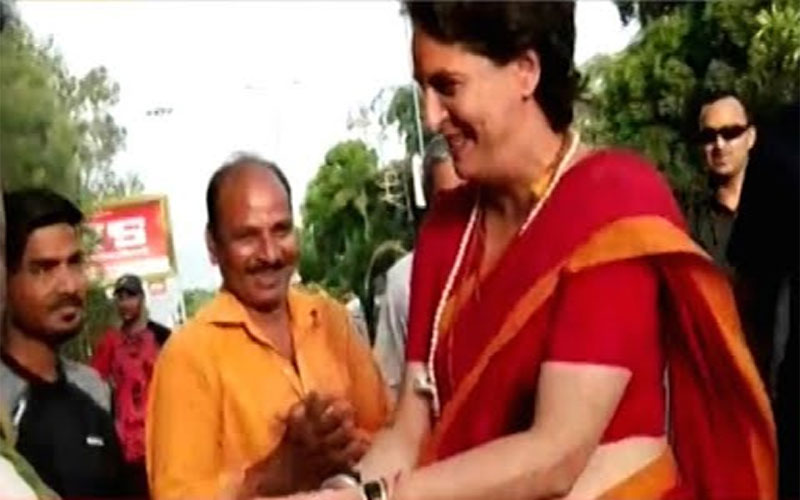 Priyanka Gandhi says all the best to PM Narendra Modi supporters