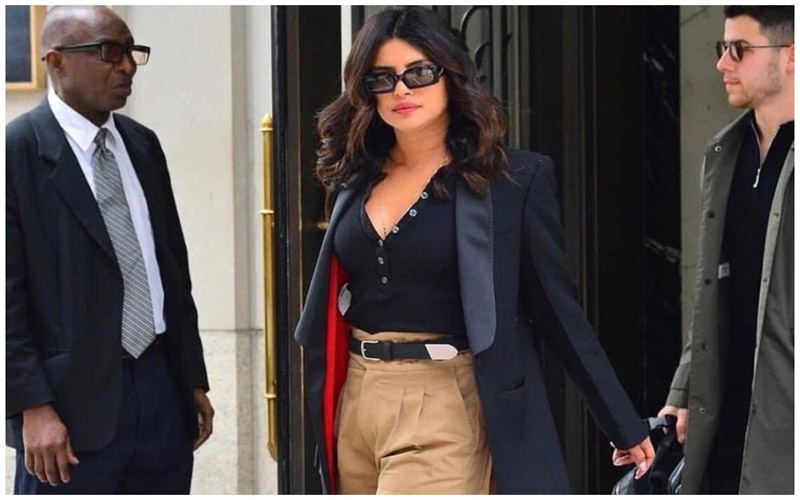 Twitter Explodes with 'Priyanka Chopra Joins RSS' Memes as Actress Steps Out in Khaki Shorts