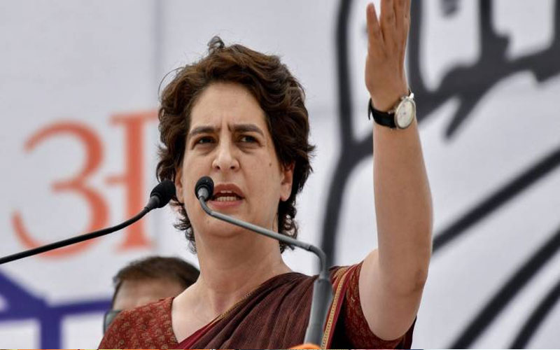 priyanka-gandhi-magic-fail-congress-lose-97-percent-seats-where-priyanka-campaign