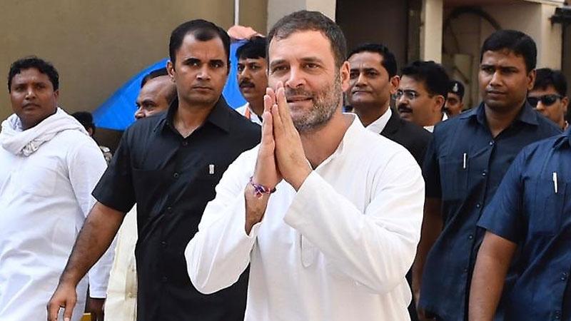Rahul Gandhi at surat