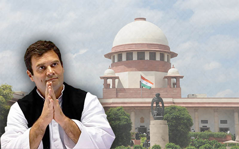 Rahul Gandhi apologises unconditionally to Supreme Court over attributing chowkidar chor hai remarks to court