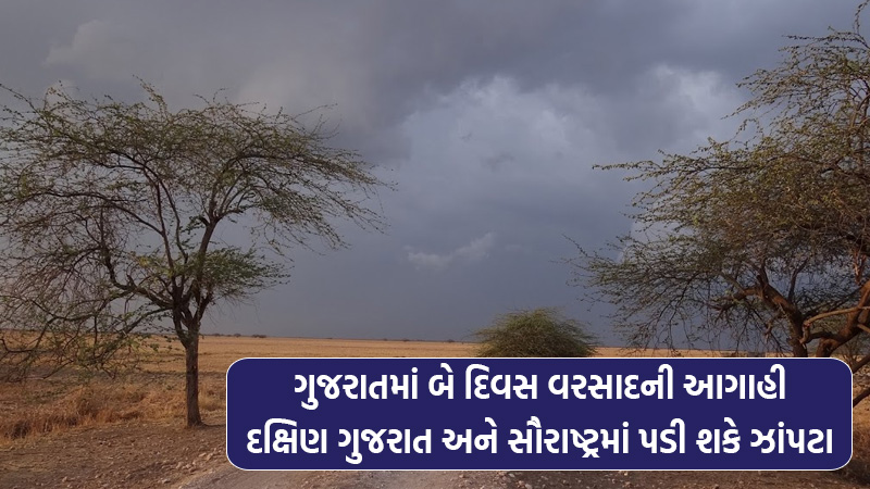 Gujarat is likely to receive heavy rains, according to the state meteorological department