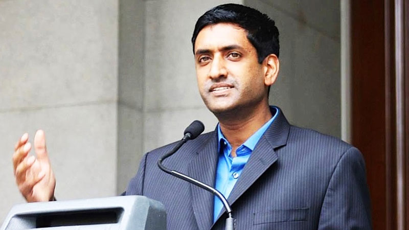 India US have urged democratic congressman Ro khanna to withdraw from the congressional caucus on Pakistan
