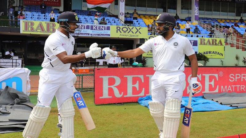 Ind Vs Sa Vishakhapatnam Test Records Made During Rohit And Mayank Partnership