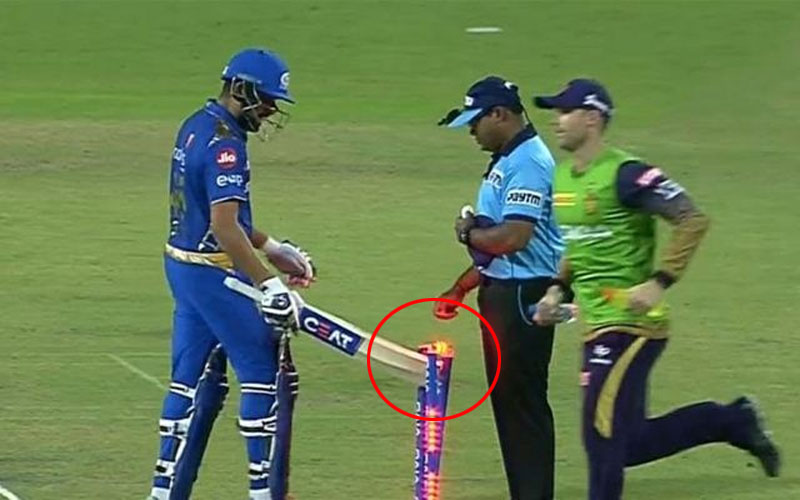 Rohit Sharma fined 15 percent of match fees due to breach of code of conduct
