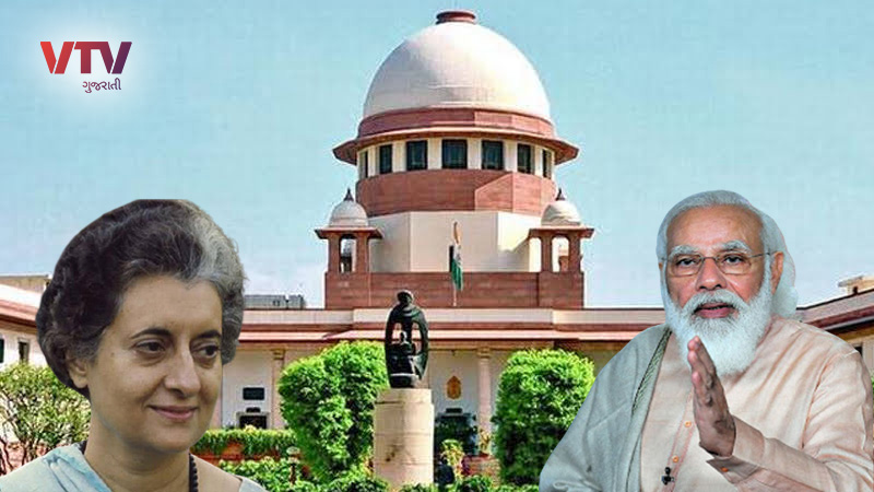 Supreme Court's notice to Modi government over Indira Gandhi incident after 45 years, know the whole matter