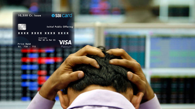 SBI card IPO prices might drop amid global recession atmosphere