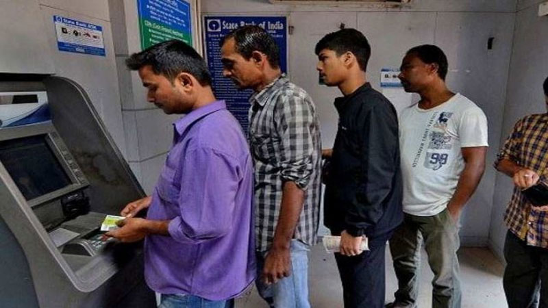 SBI customers can do unlimited free transactions atm