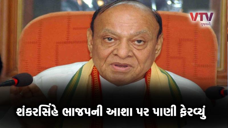 Gujarat Rajya Sabha Election 2020 NCP Shankersinh Vaghela statement