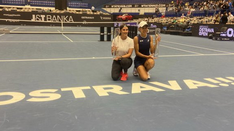 Ostrava Open: Sania wins doubles title with China's Shuai Zhang
