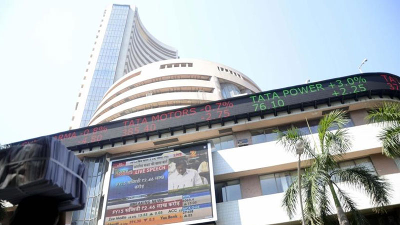 BSE Sensex NSE Nifty Share Market Opening Sensex Nifty In Green Nifty Above 13000 For The First Time