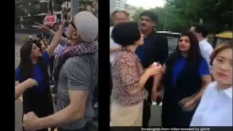 Shazia Ilmi confronted Pakistan supporters raising anti-Modi and anti-India slogans in South Korea