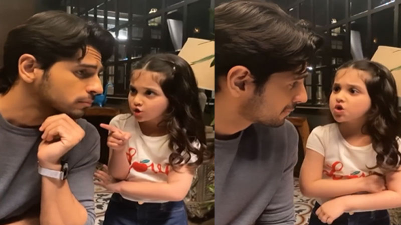 sidharth malhotra shares video with little kiara advani viral on social media