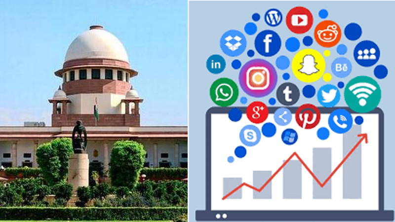 Central Government Says Social Media is Dangerous, Supreme Court Said Make it Low