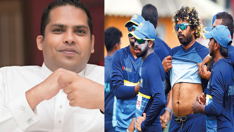 Sri Lanka sports minister hits pakistan minister fawad Chaudhry for blaming india over tour boycott